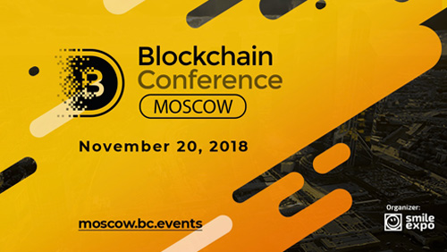 Legislation, oil business, blockchain analytics discussed at Blockchain Conference Moscow