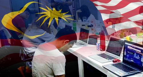malaysia-chinese-online-gambling-bust