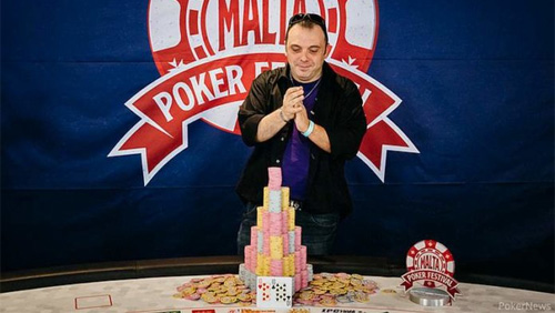 The Malta Poker Festival: Emanuele Onnis wins the Grand Event