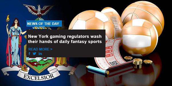 New York gaming regulators wash their hands of daily fantasy sports