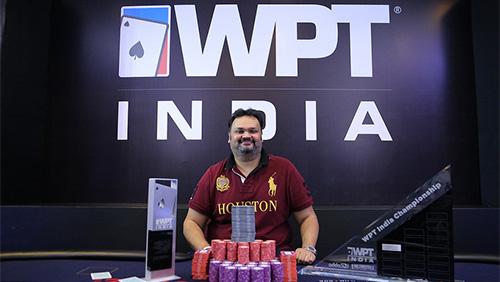 Nikunj Jhunjhunwala takes down the WPT India Main Event