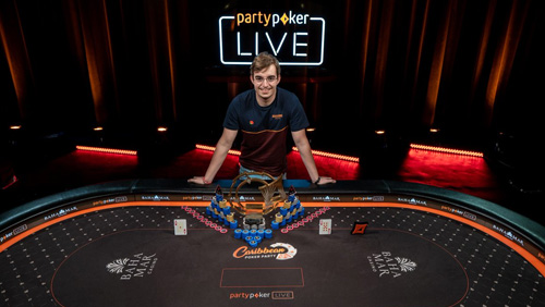 partypoker Caribbean Poker Party: Filipe Oliveira wins the Main Event