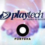 Playtech extends and expands major long-term Fortuna partnership