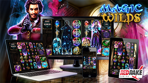 Red Rake Gaming embraces magic and mystery with a new videoslot featuring up to 5×8 reels