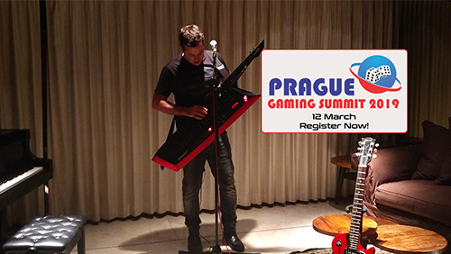 Suprise Musical Performance of Tal Ron at Prague Gaming Summit 3, Book now!