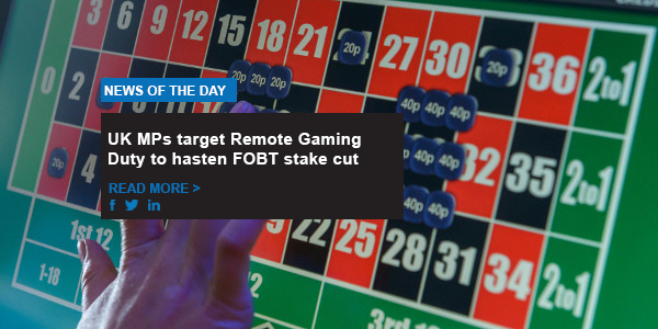 UK MPs target Remote Gaming Duty to hasten FOBT stake cut