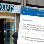 Barclays mobile app allows users to block gambling transactions