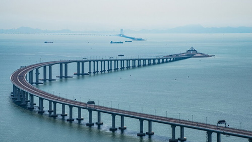 Guangdong officials won't let tourists use the HKZM bridge for short trips