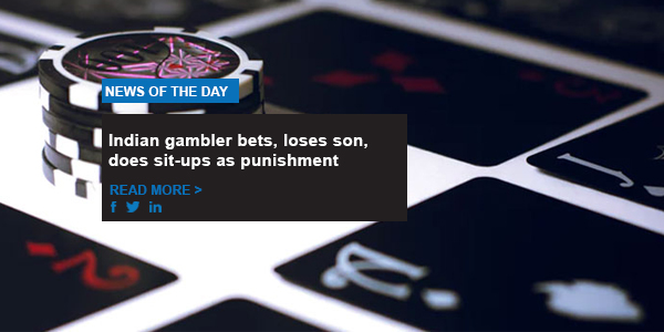 Indian gambler bets, loses son, does sit-ups as punishment