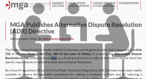 malta-gaming-alternative-dispute-resolution-directive