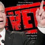 Michigan guv vetoes online gambling legislation