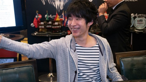 Mikiya Kudo takes down the 2018 Asian Poker Tour Finale in Manila