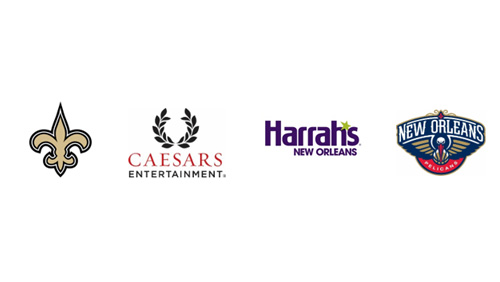 New Orleans Saints and Pelicans Select Harrah's New Orleans As First Official Casino Partner