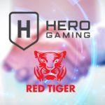 Red Tiger Gaming teams up with Hero Gaming