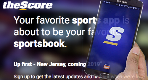 theScore plots New Jersey sports betting launch