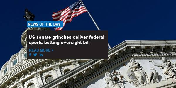 US senate grinches deliver federal sports betting oversight bill