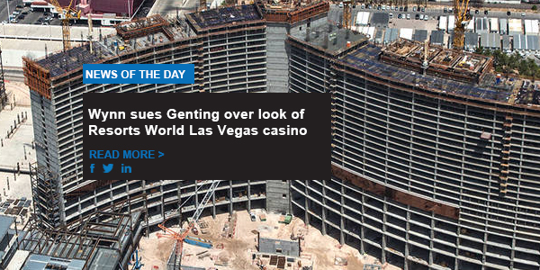 Wynn sues Genting over look of Resorts World Las Vegas casino