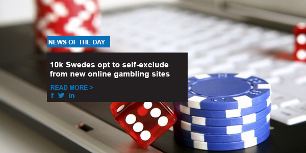 10k Swedes opt to self-exclude from new online gambling sites