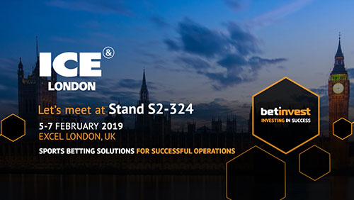 Betinvest goes to ICE London with a new Online Gaming Platform