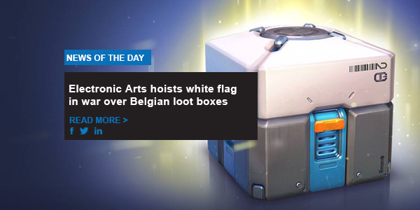 Electronic Arts hoist white flag in war over Belgian loot boxes
