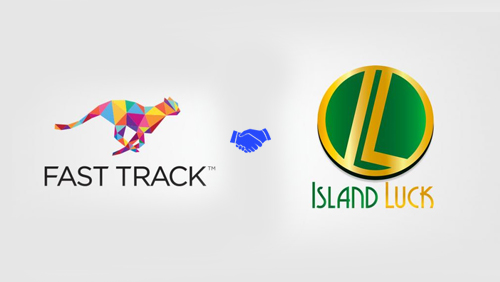 FAST TRACK signs Island Luck