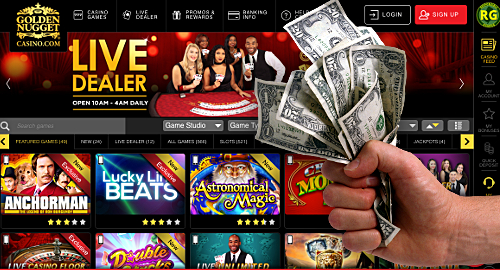 New Jersey, Golden Nugget smash online gambling records