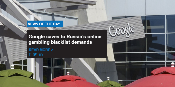 Google caves to Russia's online gambling blacklist demands