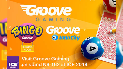 GrooveGaming get into the one-stop-shop Groove for ICE 2019 with launch of Groove LottoCity and Bingo Groove