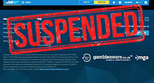 malta-gambling-regulator-suspends-gamebet-license