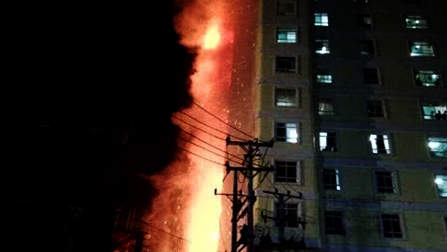 Massive fire breaks out at Cambodian casino