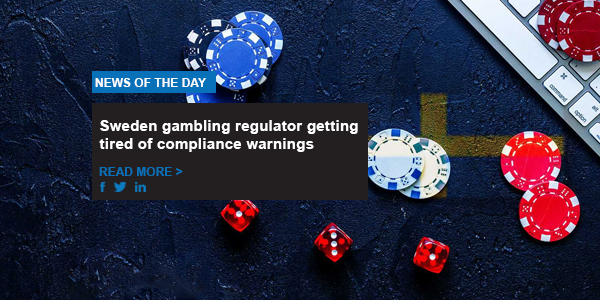 Sweden gambling regulator getting tired of compliance warnings
