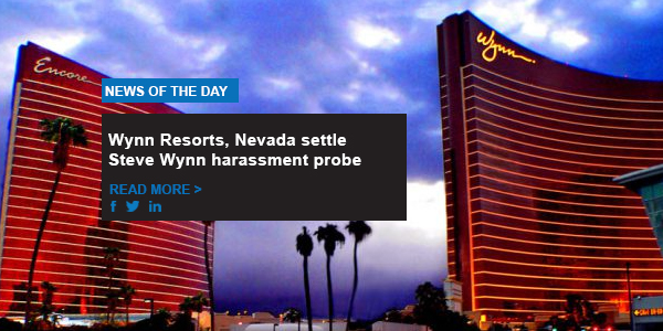 Wynn Resorts, Nevada settle Steve Wynn harassment probe