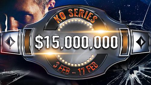 3: Barrels: partypoker Elite VIP program; $1m SPINS; $15m GTD KO Series