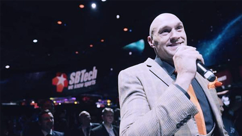 Boxing champion Tyson Fury and SBTech knock out competition with BIG BANG reveal at ICE 2019