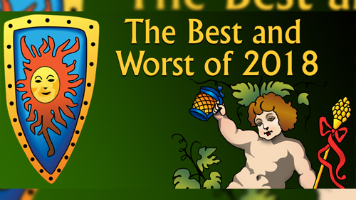 Casinomeister's Best and Worst Awards for 2018 - finally announced
