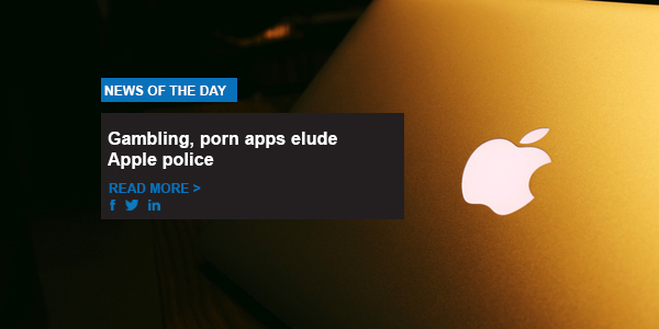 Gambling, porn apps elude Apple police