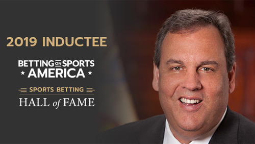 Governor Chris Christie to join Sports Betting Hall of Fame at Betting on Sports America