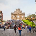 Macau tourist arrivals up in January