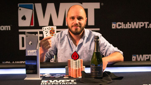 Martin Gaudreault-Remillard wins WPTDeepStacks Montreal For $182,790