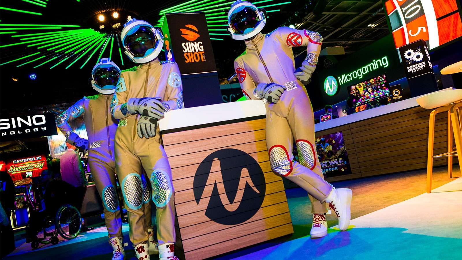 Microgaming goes full throttle with Banana Odyssey on final day of ICE 2019