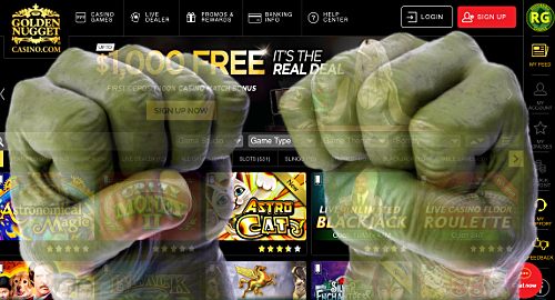 New Jersey hulk-smashes online gambling revenue record