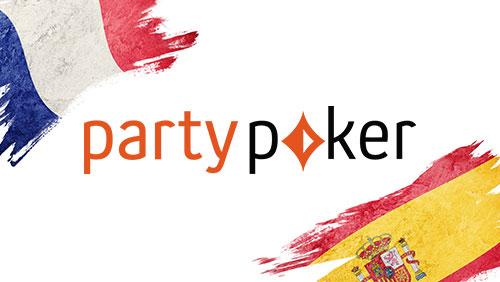 partypoker sponsor France & Spain Poker Series; Powerfest & MyGame news