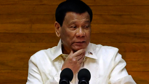 Philippines president discourages illegal Chinese workers' deporting