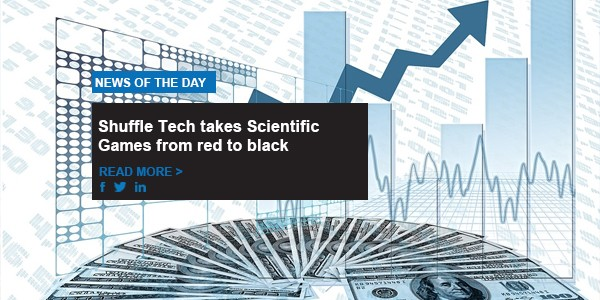 Shuffle Tech takes Scientific Games from red to black