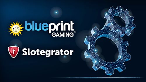 Slotegrator started collaboration with the Blueprint gambling developer