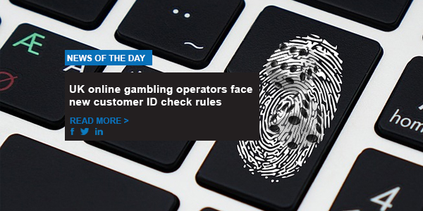 UK online gambling operators face new customer ID check rules