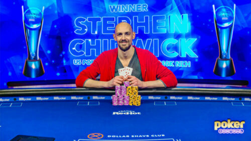US Poker Open News: Stephen Chidwick starts defence with a win