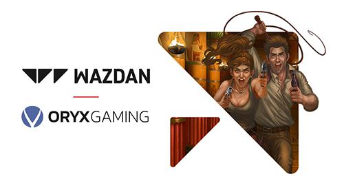 Wazdan announces partnership with Oryx Gaming