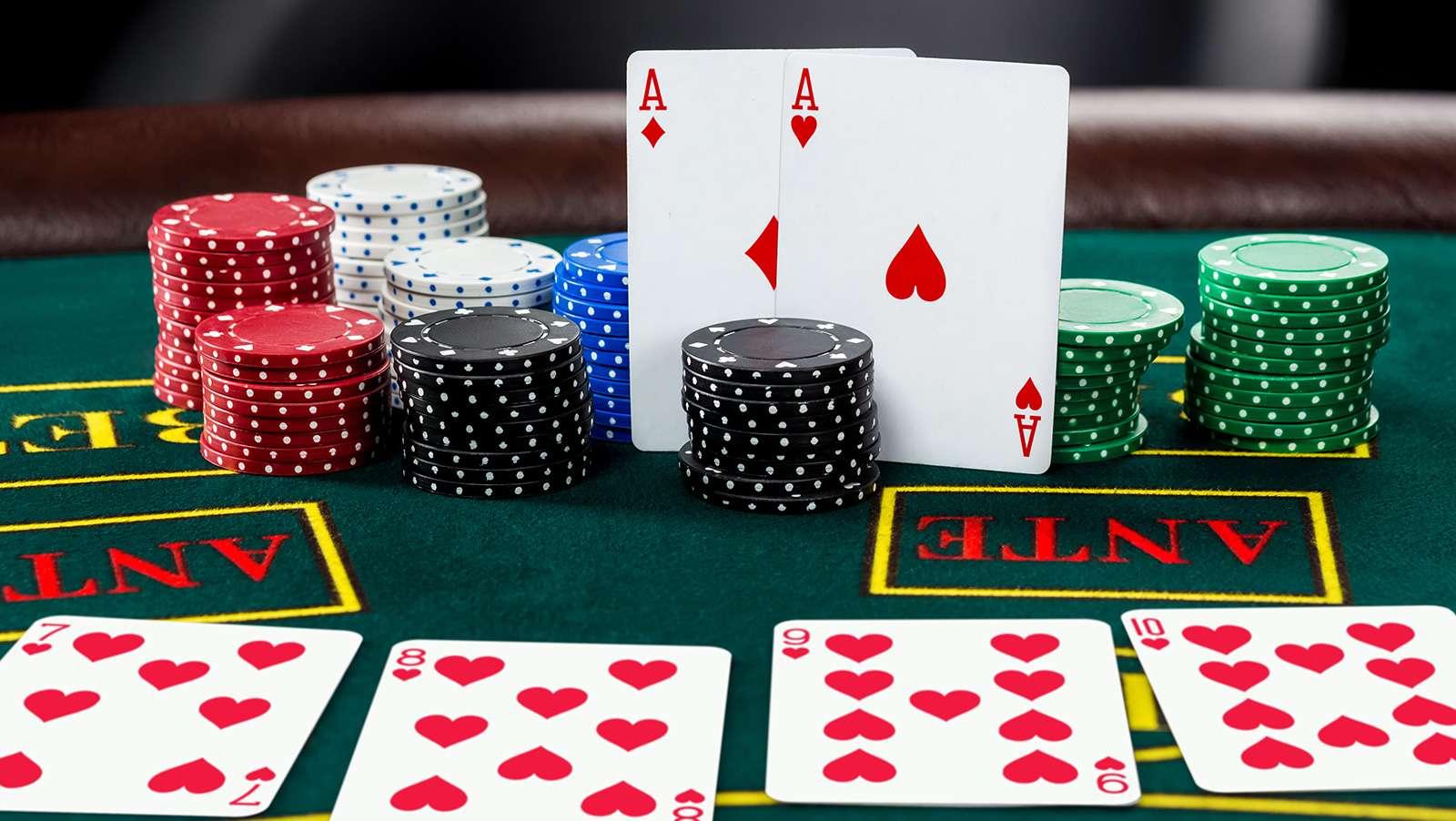 poker holdem blätter