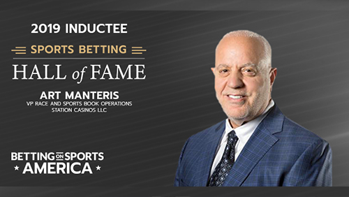 Art Manteris inducted into Sports Betting Hall of Fame
